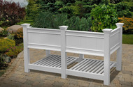 Cambridge Raised Planter with Extension Kit (6' Wide)