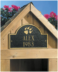 Personalized Dog Memorial Plaque