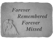 Forever Remembered Memorial Stone