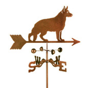 German Shephard Weathervane