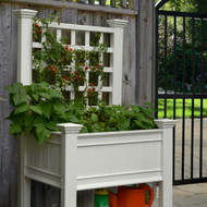Kingsrow Planter with Trellis