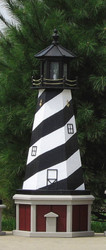 Lighthouse Base for 4'H Lighthouse