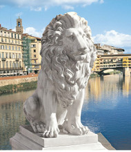 "Lion of Florence Sentinel Statue 28""H"