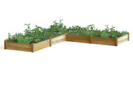 """L"" Shaped Raised Garden Bed"