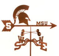 Michigan State Weathervane
