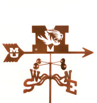 Missouri University Weathervane