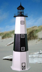 Montauk E-Line Stucco Lighthouse (4')