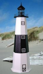 Montauk E-Line Stucco Lighthouse (5')