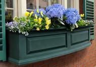 Green w/o decorative brackets