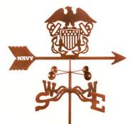 Navy Weathervane