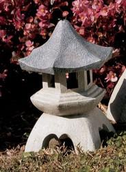 "Medium Pagoda Lantern Statue 10.5""H"