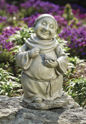 "Pudgy Monk with Bird 12 ""H"