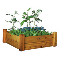 Raised Garden Bed 34x34x13 with Safe Finish
