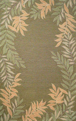 Spello Outdoor Rug (Fern Border Green)