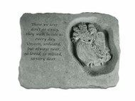 Those We Love...Memorial Stone w/Angel