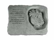 Those We Love...Memorial Stone w/Angel