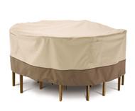 Veranda Round Patio Table & Chair Set Cover (Large)