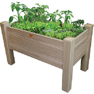 Vinyl Elevated Garden Bed 24x48x32H