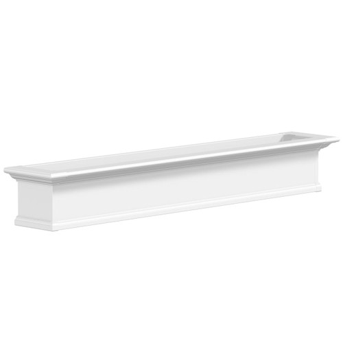 white window box