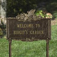 Fairy Garden Plaque (Personalize 2 Lines)