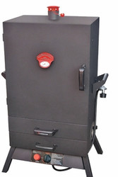 "38"" Gas Wide Two Drawer Vertical Smoker"