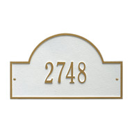 "Arch Marker Address Plaque 16""W x 9""H (1 Line)"