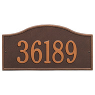 "Rolling Hills Grand Address Plaque 18""W x 9""H (1 Line)"