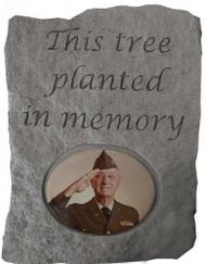 This Tree...Photo Memorial Stone
