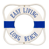 "Life Ring Personalized Plaque 12""W x 12""H (2 Lines)"