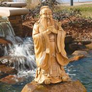 """Confucius Garden Sculpture 24""""H"""