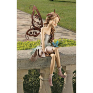 "Fannie The Fairy Sitting Statue 13""H"