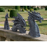 "Dragon Of Falkenberg Castle Moat Statue 15""H"