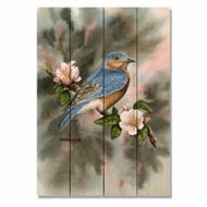 """Bluebird Wall Art 14"""" x 20"""""""