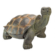 "The Elephant Tortoise Statue 30""W"