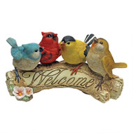 "Birdy Welcome Statue 5""H"
