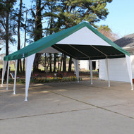 Event Tent Green/White (20' x 20')