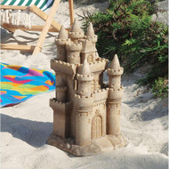 "Castle by the Sea Sculpture 19.5""H"
