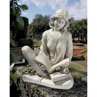 "Reflection Reader Garden Girl Statue 20""H"