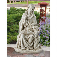 "St. Anne with the Young Mary, Mother of Jesus Statue 24""H"