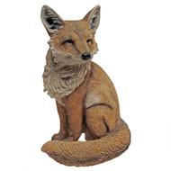 """Fabian, the Flamboyant Fox Garden Statue 15""""H"""
