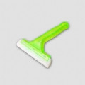 """6"""" Silicon Blade Cleaning Squeegee w/Green Plastic Handle"""