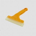 "5.5"" PU Blade Squeegee w/Yellow Plastic Handle"