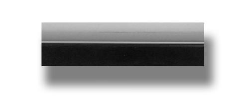 "9"" Black Smoothie Squeegee - Tube Handle & Blade"