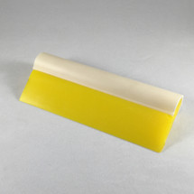 "5.5"" Yellow Turbo Squeegee - Tube Handle & Blade"