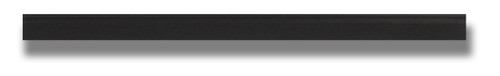 """28"""" Black Smoothie Squeegee - Blade Only"""