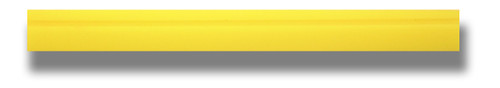 "18.5"" Yellow Turbo Squeegee - Blade Only"