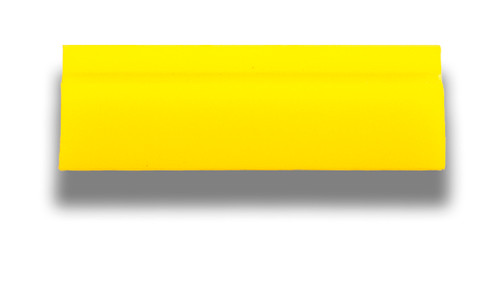 "5.5"" Yellow Turbo Squeegee - Blade Only"
