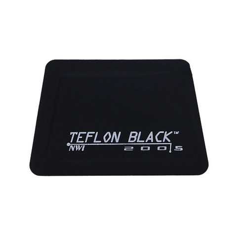 "4"" Teflon Hard Card - Black Flex Firm"
