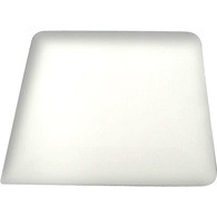 "6"" Teflon Hard Card - White Flex Firm"