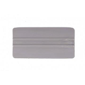 "6"" Lidco Bump Card Round Corner Squeegee - Gray"